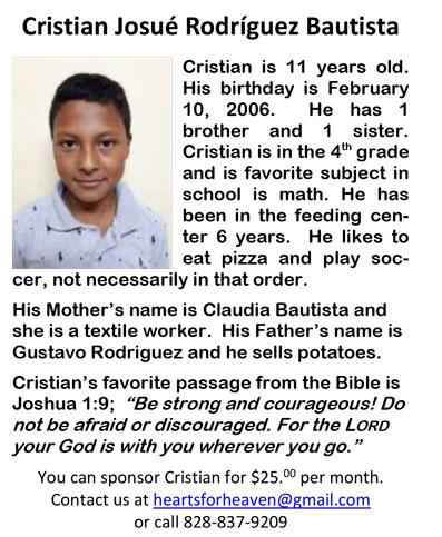 Cristian Josue Rodriguez Bautista J